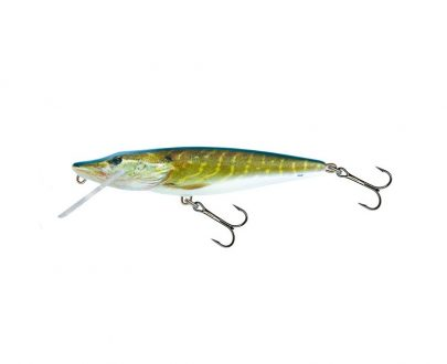 salmo wobler perch floating holographic grey shiner 1 6 405x330 - Salmo Wobler Pike Real Pike 11cm 15g plávajúci