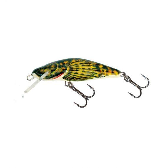 salmo wobler perch floating holographic grey shiner 1 7 570x570 - Salmo Wobler Bullhead Bullhead 6cm 6g plávajúci