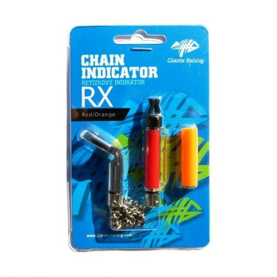 G 10820 570x570 - Giants Fishing Retiazkový indikátor Chain Indicator RX Red/Orange