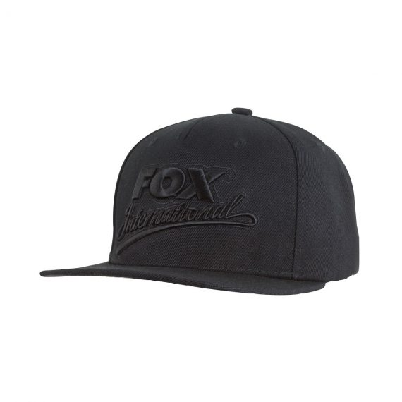 fox ksiltovka black camo snapback special cap 570x570 - Fox International Black Snapback Cap
