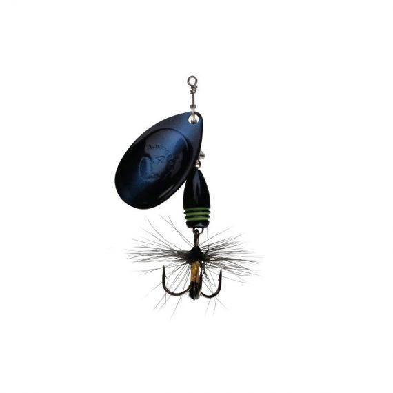 savage gear blyskac rotex spinner black purple 1 570x570 - Savage Gear blyskáč Rotex Spinner Black Purple 3,5g