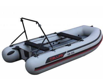 KB350PRO 2 405x330 - Elling nafukovacie člny – Trimaran s nafukovacou podlahou
