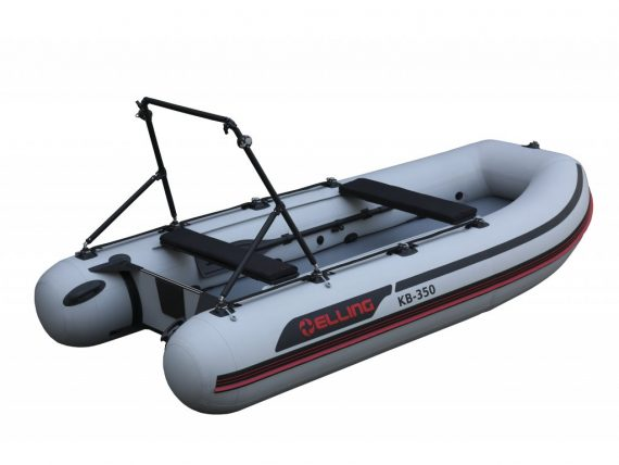 KB350PRO 2 570x428 - Elling nafukovacie člny – Trimaran s nafukovacou podlahou