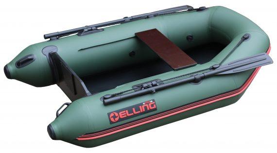 T200Z 2 570x315 - Elling nafukovacie člny - T200 široký s pevnou skladacou podlahou