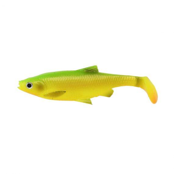 savage gear gumova nastraha 3d lb roach paddle tail firetiger 4 ks 1 570x570 - Savage gear 3D LB Roach Paddletail 7.5cm 5g 4ks Firetiger