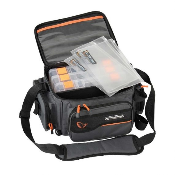 savage gear system box bag 3boxes pp bags 1 570x570 - Savage Gear System Box Bag 3Boxes PP Bags M (20x40x29cm)