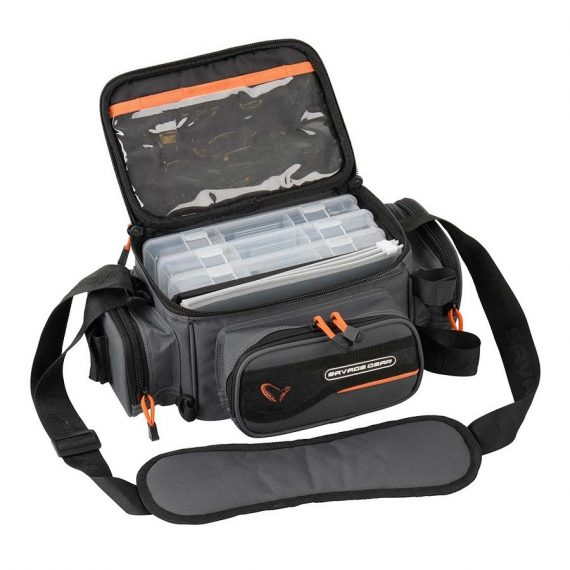 savage gear system box bag 3boxes pp bags s 1 570x570 - Savage Gear System Box Bag 3Boxes PP Bags S (15x36x23cm)