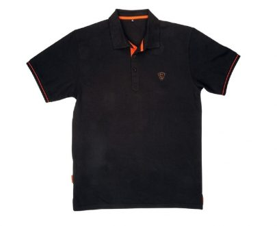 fox polokose a black orange polo shirt 2 405x330 - FOX Tričko Polo Shirt Black/Orange