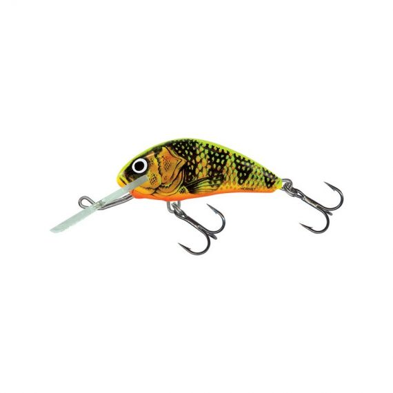 salmo wobler hornet floating gold fluo perch 1 570x570 - Salmo Wobler Hornet Floating Gold Fluo Perch 6cm 10g plávajúci
