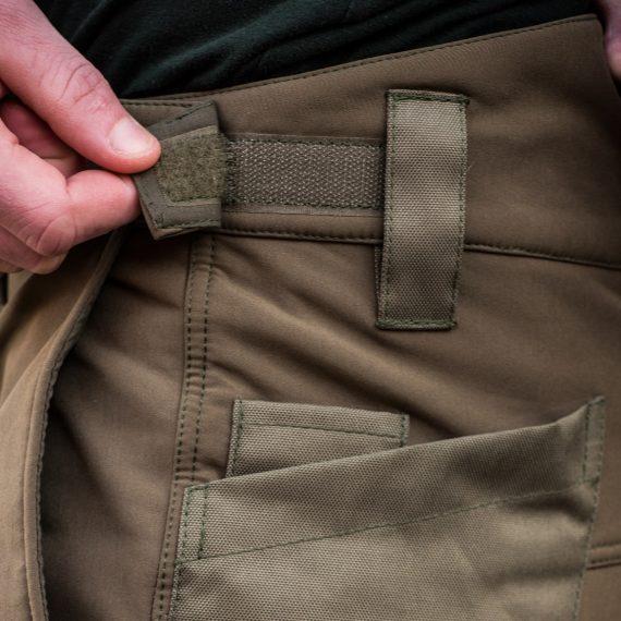 11120389 4 570x570 - Mikbaits Nepromokavé funkčné nohavice Mikbaits STR zelené