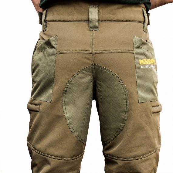 11120389 7 570x570 - Mikbaits Nepromokavé funkčné nohavice Mikbaits STR zelené