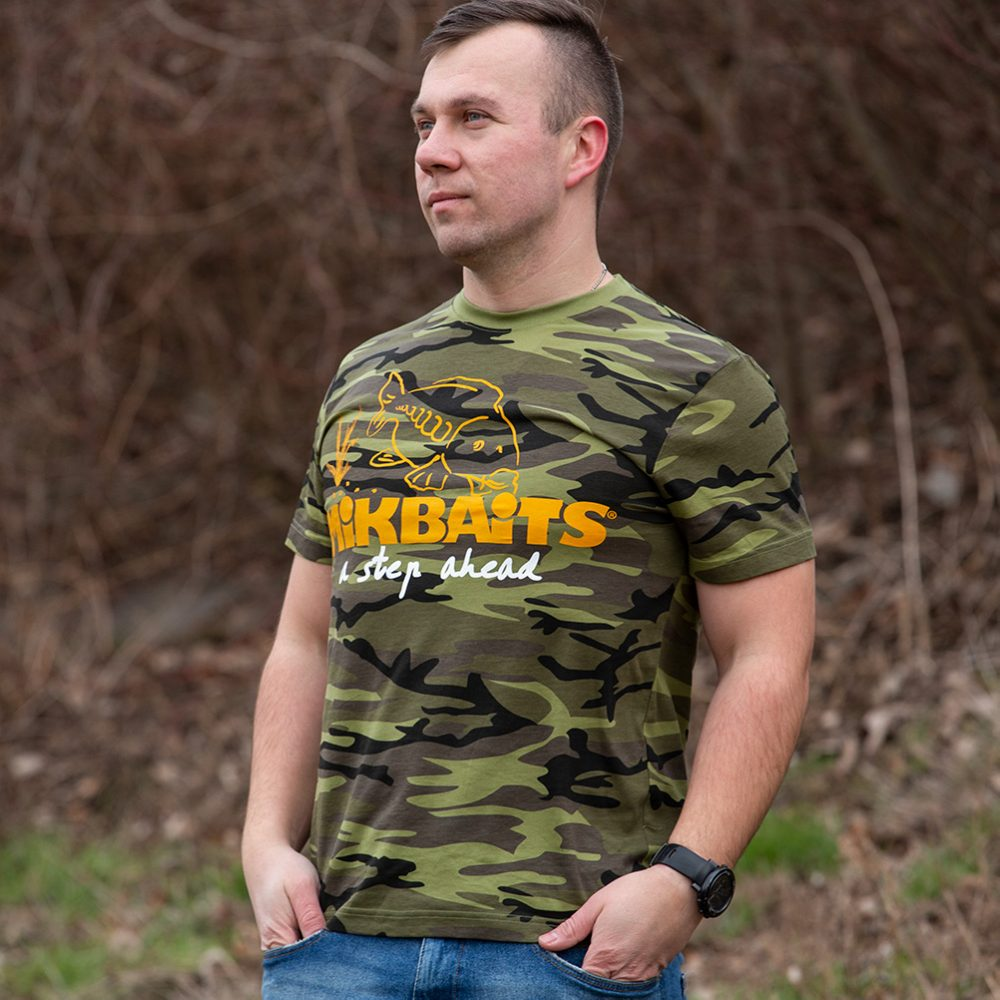 baa54f07e077 Mikbaits tričko camou