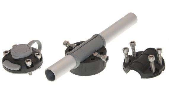 FMR125 1 570x381 - Rychloupínací držiak pre pripevnenie na trubku