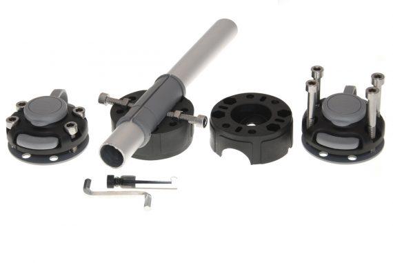 FMR225 1 570x381 - Rychloupínací držiak pre pripevnenie na trubku