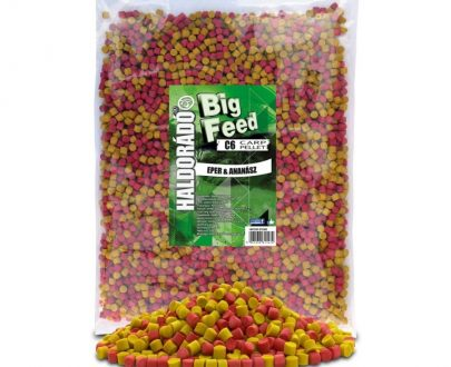 Haldorad big feed c6 pellet jahoda ananas 2500g 600x800 405x330 - Haldorádó Big Feed - C6 Pellet 2500 g - Jahoda a Ananás