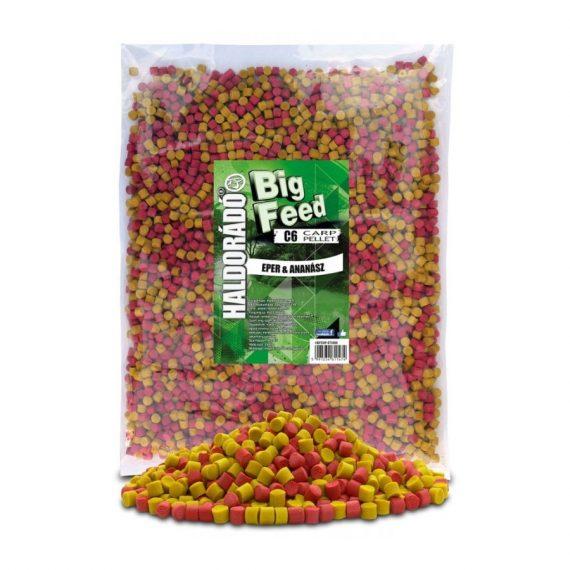 Haldorad big feed c6 pellet jahoda ananas 2500g 600x800 570x570 - Haldorádó Big Feed - C6 Pellet 2500 g - Jahoda a Ananás