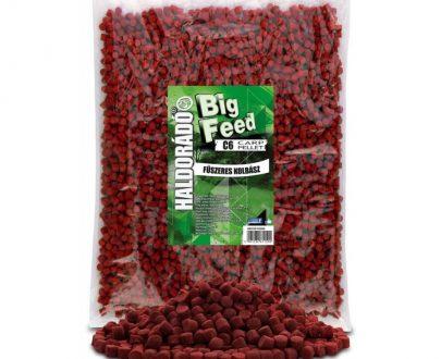 Haldorad big feed c6 pellet korenista klobasa 2500g 600x800 405x330 - Haldorádó Big Feed - C6 Pellet 2500 g - Korenistá Klobása