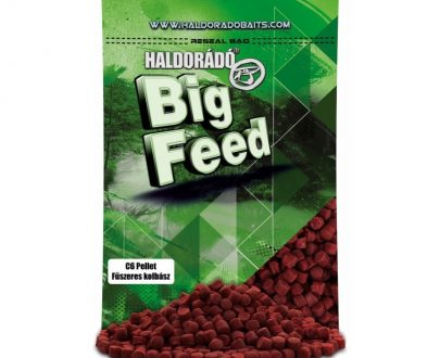 Haldorad big feed c6 pellet korenista klobasa 900g 600x800 405x330 - Haldorádó Big Feed - C6 Pellet - Korenistá Klobása