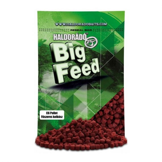 Haldorad big feed c6 pellet korenista klobasa 900g 600x800 570x570 - Haldorádó Big Feed - C6 Pellet - Korenistá Klobása