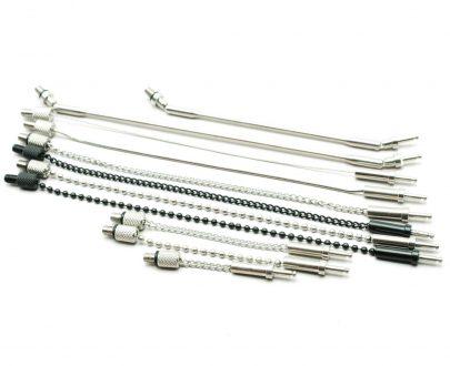 TAS1310 405x330 - Taska Sensalite - Čierna guličková retiazka long (20cm)