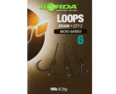 korda hotove navazce loop rigs krank barbless 8 2 kg 1 1 405x330 - Korda Hotové Náväzce Loop Rigs Krank Micro Barbed 8,2 kg