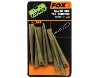 cac636l 405x330 - FOX EDGES™ Power Grip Naked Line Tail Rubbers - Sz 7
