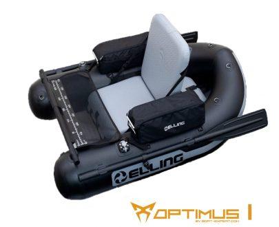 BBOPT1 405x330 - Elling nafukovacie člny – Belly Boat Optimus II khaki