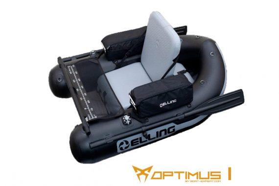 BBOPT1 570x380 - Elling nafukovacie člny – Belly Boat Optimus I khaki