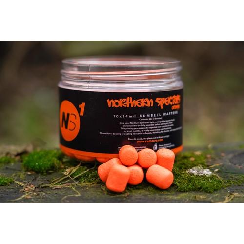 northern specials orange wafters 500w - CC Moore NS1 - Vyvážené Wafters NS1 Dumbell oranžová 50ks