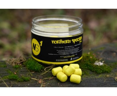 northern specials yellow wafters 500w 405x330 - CC Moore NS1 - Vyvážené Wafters NS1 Dumbell žltá 50ks