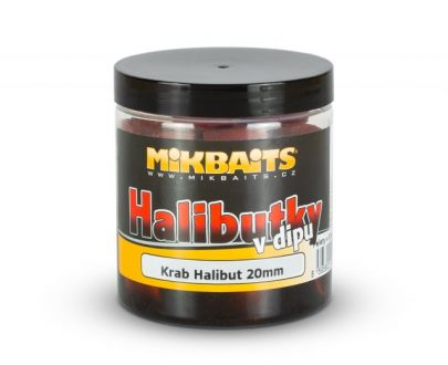 19163 1 69905 0 mp0007 1 405x330 - Halibutky v dipu 250ml – Krab Halibut 14/20mm