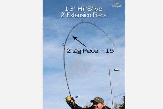 211 570x380 - FREE SPIRIT Zig Piece 60cm Nástavec na Hi-S